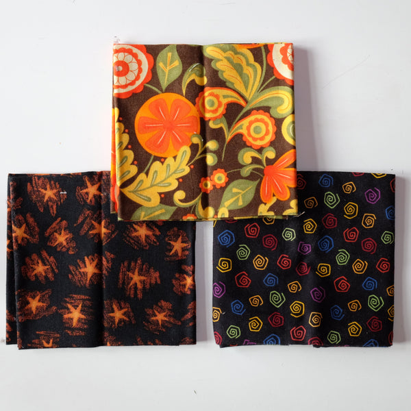 Halloween Fat Quarter Selection F28