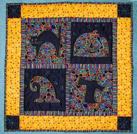 Halloween Hocus Pocus Wallhanging Kit F29