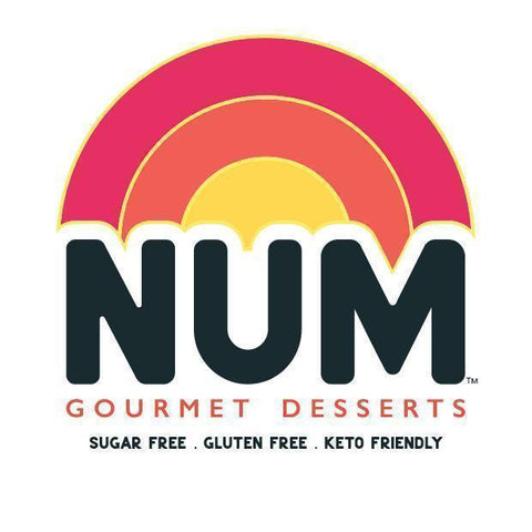 Num Gourmet Desserts rainbow logo, based in Logan, Utah. ready to eat baked goods diabetic bakery Utah Keto friendly bakery Logan Utah keto friendly bakery with nationwide delivery Utah small business Utah bakeries self-care tips what is dopamine #guiltfreedesserts #ketodiet #ketobakedgoods #sugarfreedesserts #glutenfreedesserts #diabeticdesserts #selfcaretips #smallbusinessutah #brownies #cookies #ketofriendly