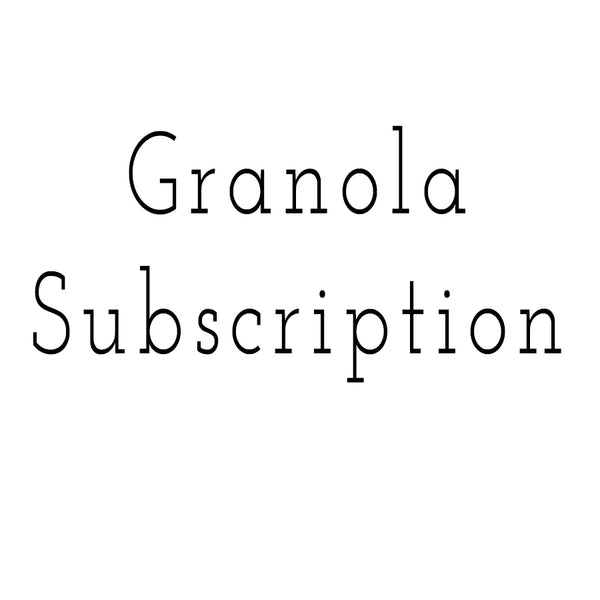 CNINNAMON GRANOLA SUBSCRIPTION