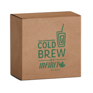 Cold Brew Single Packet - 12 Pack or 24 Pack - Decaffeinated