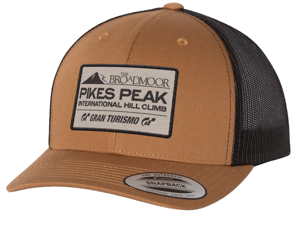Woven Patch Hat - Tan
