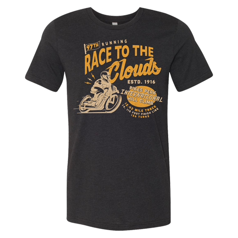 Race to the Clouds Tee - Black