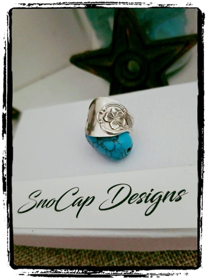 Sterling Silver Salt Ring ~ Spoon Ring - Montana Jewelry - SnoCap Designs
