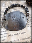 Make Your Soul Happy Spoon Bracelet