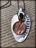 """~Do Better~"" Spoon Necklace"