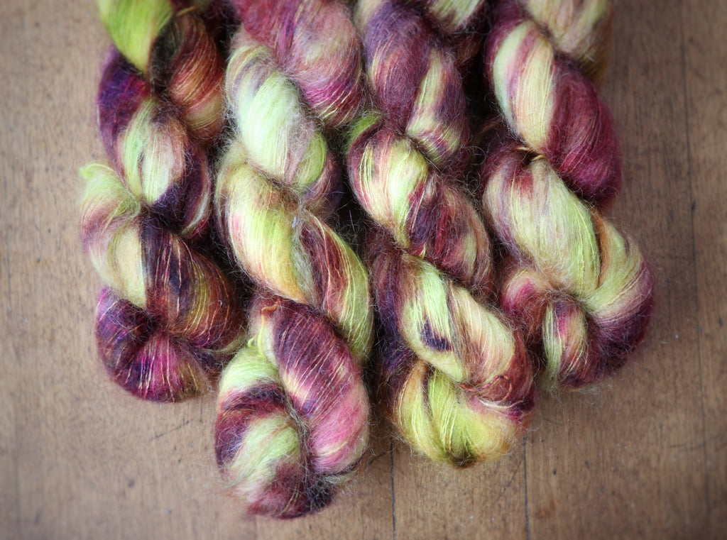 Coleus on Aura Mohair