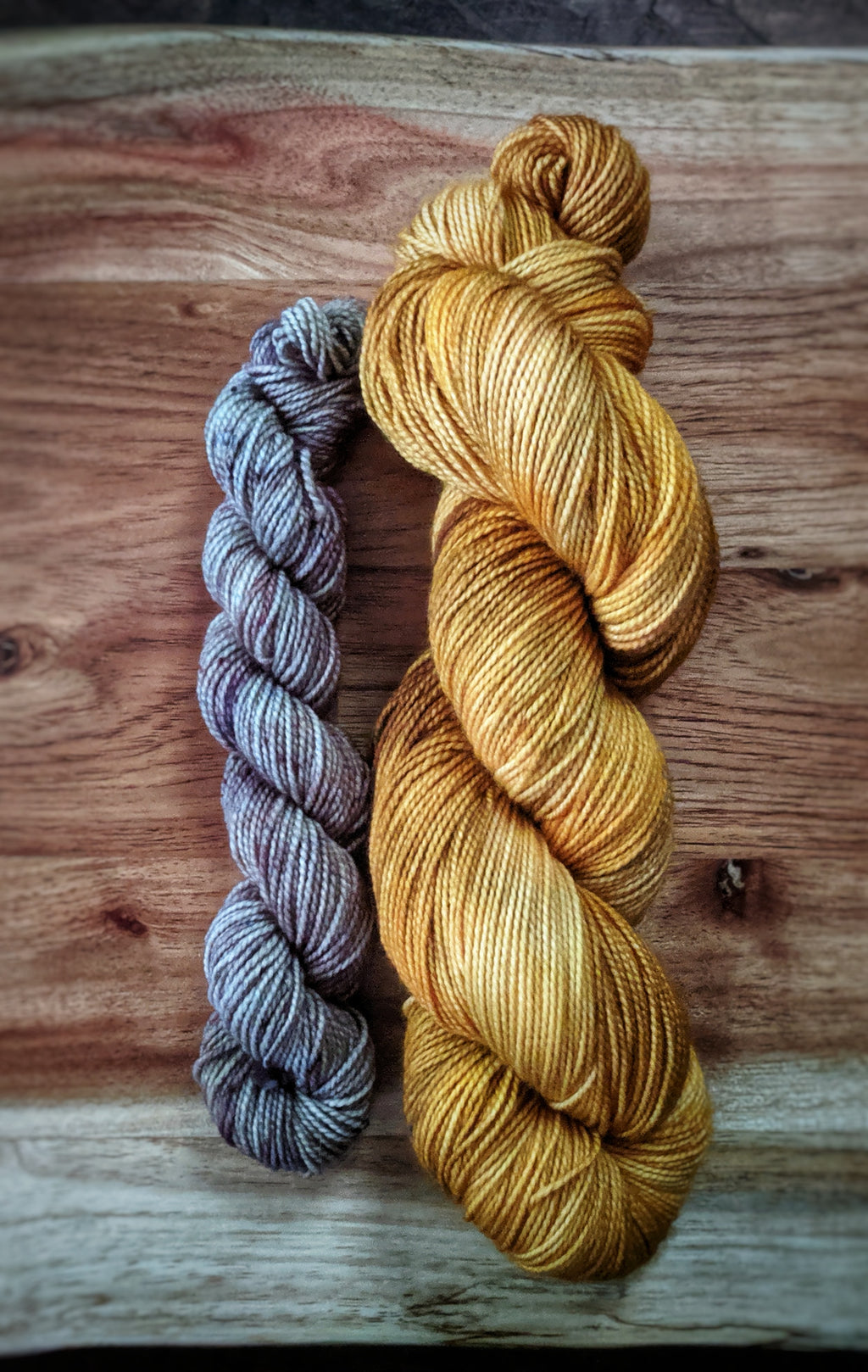 Baltic Amber and Twig Sock Set on Rugged Sock