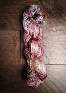Wilted Rose Petal on Merino Plump Bulky