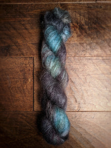 Midnight Sun on Aura Mohair