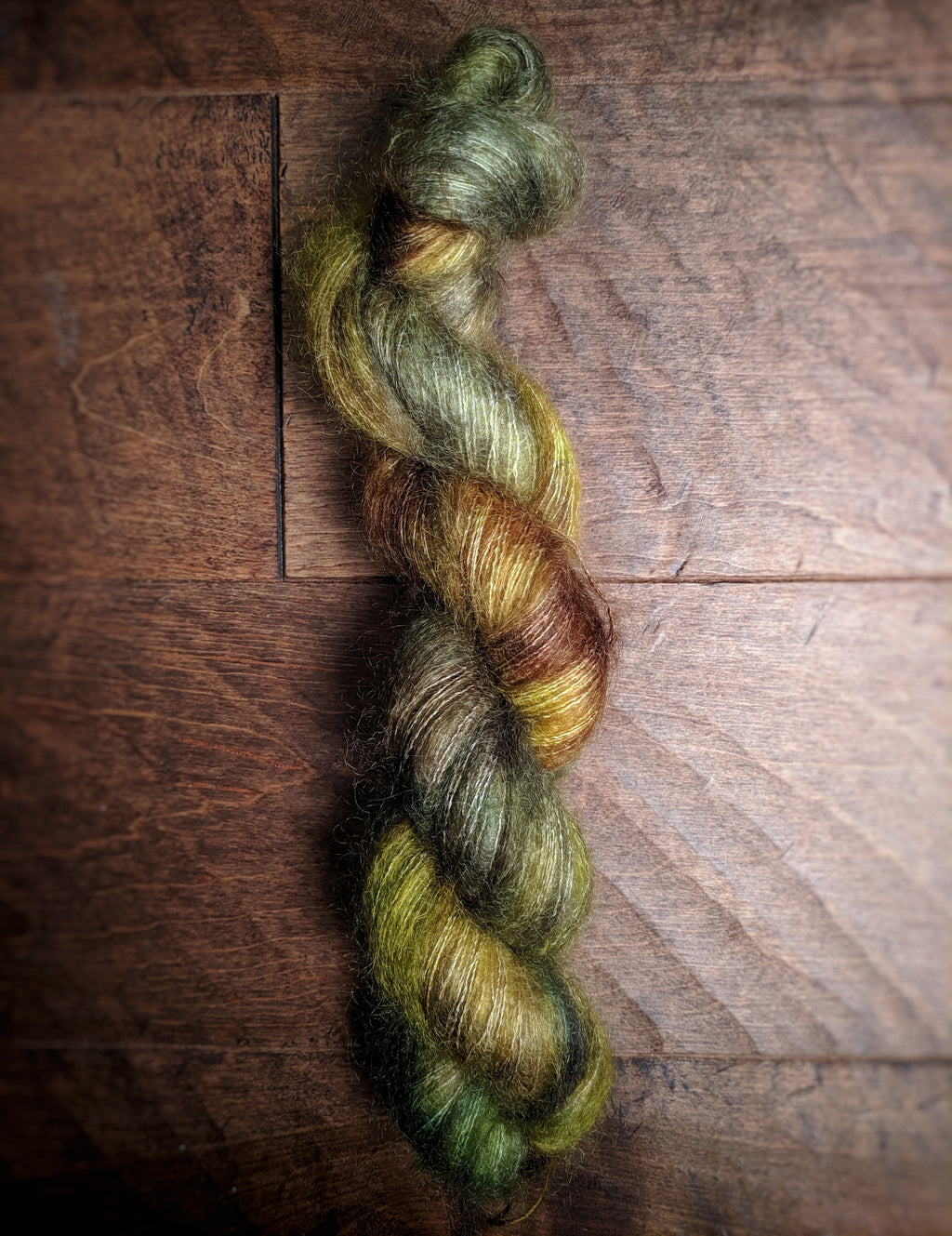 Woodsy on Aura Mohair