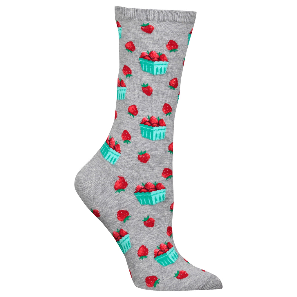 Women's Strawberry Pint Socks