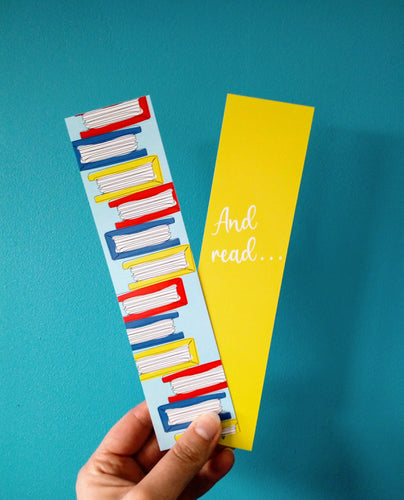 'And Read' Bookmark