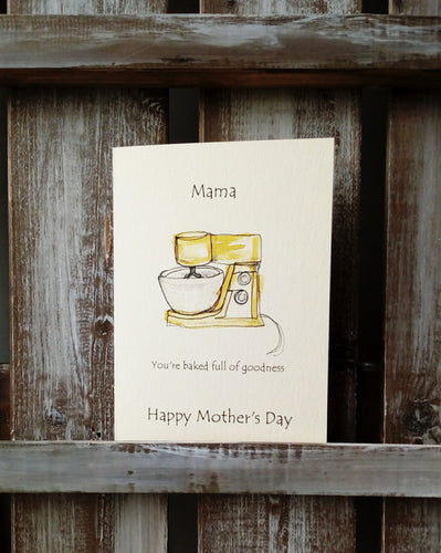 Baked Full of Goodness Mother's Day Card