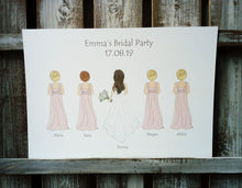 Load image into Gallery viewer, Bridal Party Print