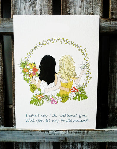 Bridesmaid Proposal & Thank you