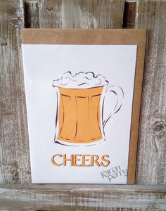 Cheers! Greetings Card