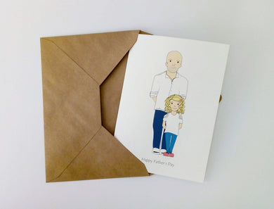 Father's Day Cartoon Card