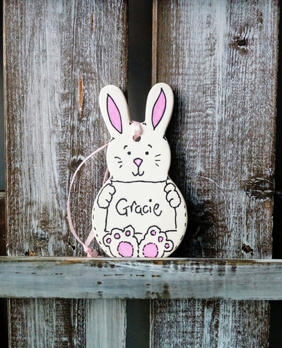 Bunny Ceramic Decoration