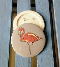 Load image into Gallery viewer, Flamingo Badge