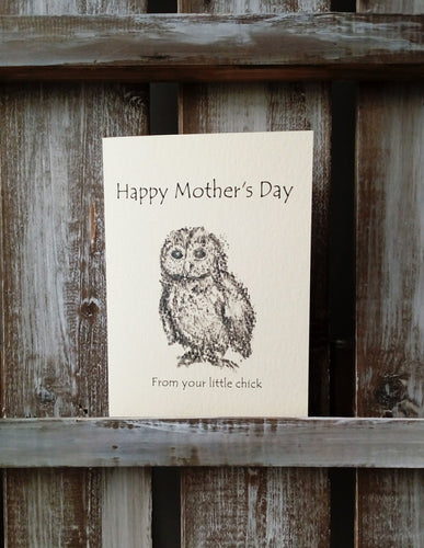 Chick Mother's Day Card