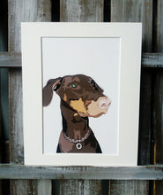 Load image into Gallery viewer, Pet Portraits - Printed digital Illustrations