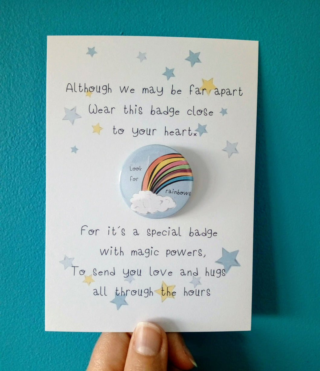 Look for Rainbows Badge Set