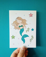 Load image into Gallery viewer, Mermaid Card
