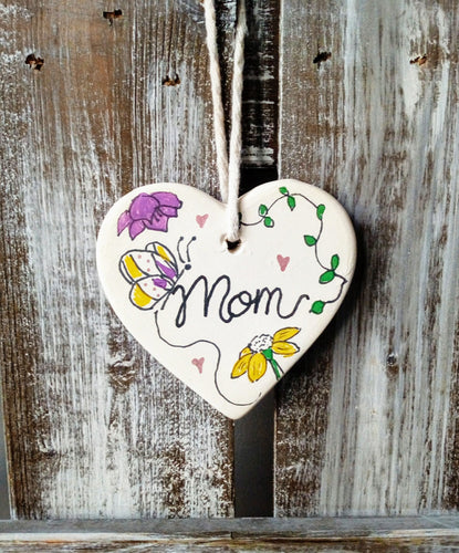 Mother's Day Ceramic Heart