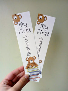 'My First Bookmark'