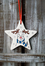 Load image into Gallery viewer, Rudolf Ceramic Star