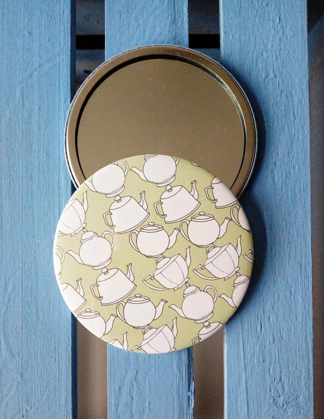 Teapots Pocket Mirror