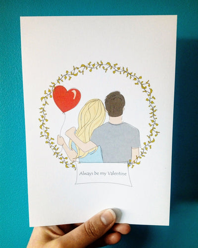 Lovey Dovey Illustration