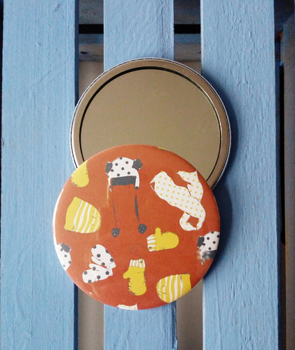 Winters Day Pocket Mirror