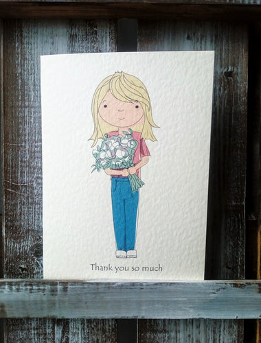Thank You Personalised Card