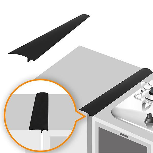 (2 Pack)Silicone Kitchen Stove Counter Gap Cover Long & Wide Gap Filler