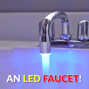 Amazing Intelligent LED Faucet WaterFall