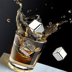 Stainless Steel Ice Whiskey Stones
