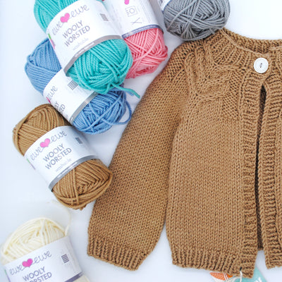 Antler Cardigan Baby Kit