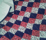 Red, White & Blue Blanket