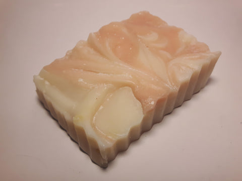 Raspberry Vanilla goat milk soap