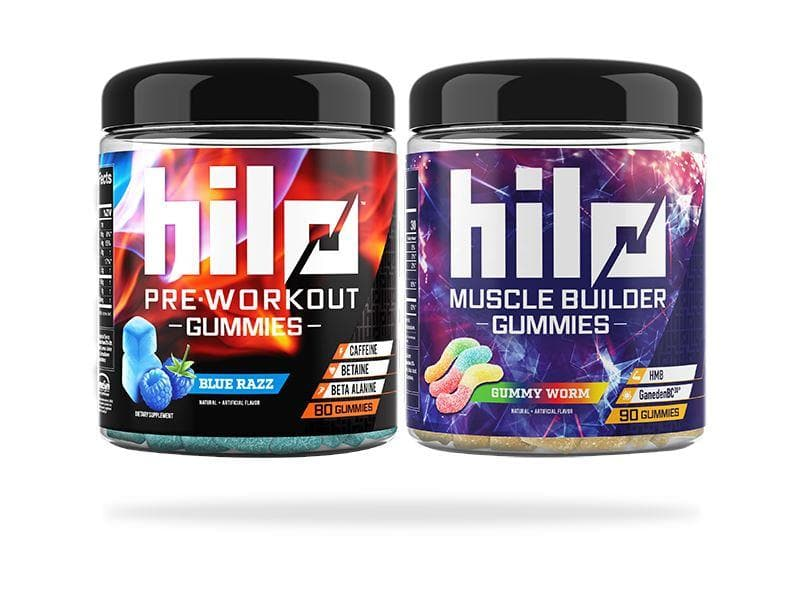Pre / Post Stack Default Hilo Nutrition Blue Razz Gummy Worm