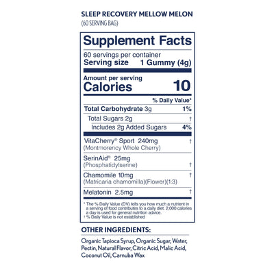 Sleep Recovery - Hilo Gummies