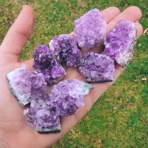 Amethyst Small Clusters