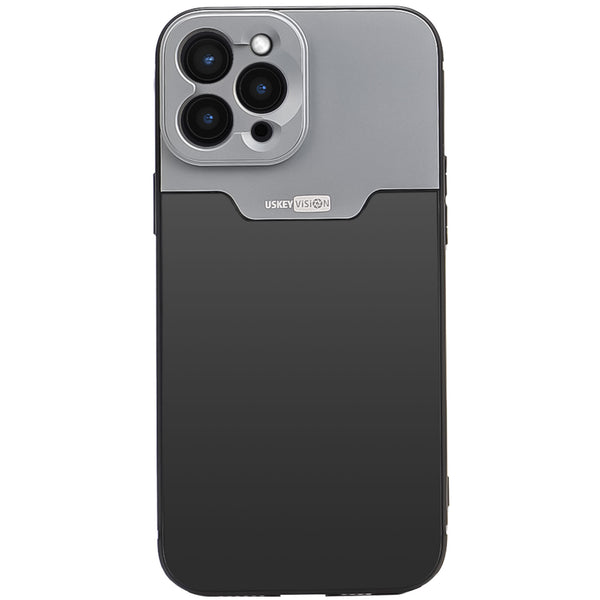USKEYVISION Phone Case for iPhone 12 Pro Max Exclusively, with 17MM Thread for Mouting the Attached Lens, for Anamorphic Lens, Macro Lens, Fisheye Lens, DOF Adaptor, for Vlogger/Youtuber (UVMP-MAX)