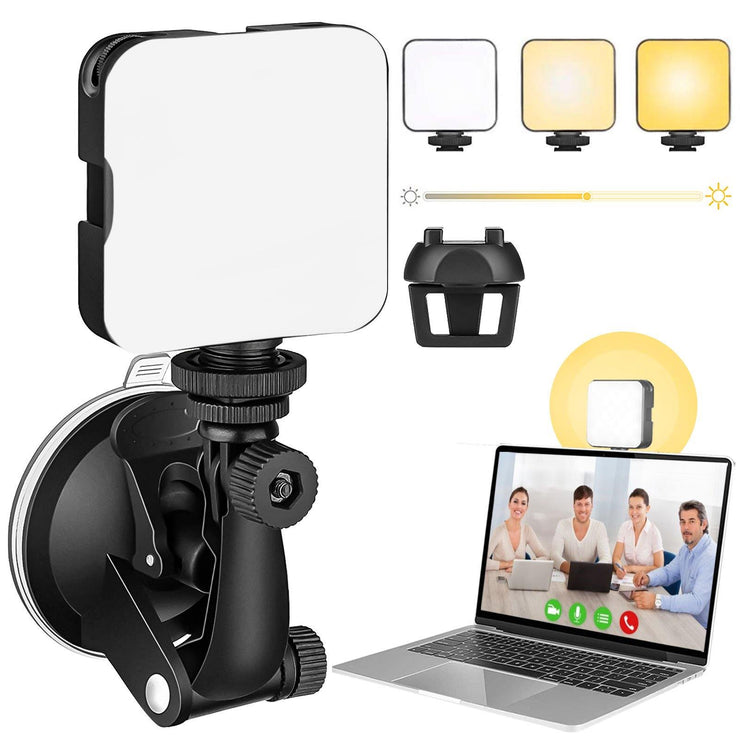 UVZL-1 Video Conference Zoom Light for Zoom Call Meeting Computer Webcam Lighting with Laptop Clip-on