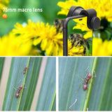 UVML-10X Super Macro Lens Smartphone Attachment HD Lenses for iPhone12 Pro Max and Android Smart Phones Clip-on - USKEYVISION
