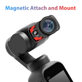 USKEYVISION DJI Pocket 2 and Osmo Pocket 100° Wide-Angle Lens Magnetic Attached Camera Extra Lens for DJI OSMO Pocket Filmmakers Full Cinematic Video Vlog Accessory (UVWL-OP1)