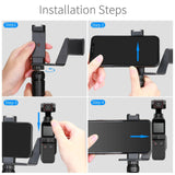 Uskeyvision Phone Mount Kit for Osmo Pocket,Osmo Pocket Accessory