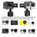 XG1 Classic Action Camera Gimbal Wearable Stabilizer for GoPro Hero7/6/5.4/3, YI 4K